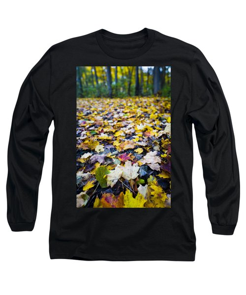 Long Sleeve T-Shirt featuring the photograph Foliage by Sebastian Musial