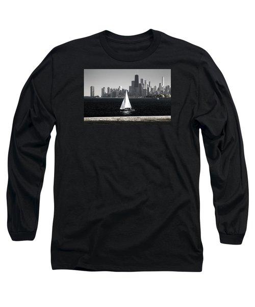 Follow Your Dream Long Sleeve T-Shirt by Milena Ilieva