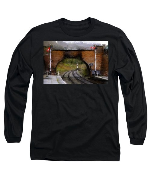 Foot Bridge. Long Sleeve T-Shirt