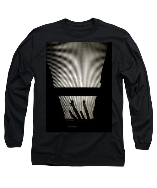 Footsteps And Faces Long Sleeve T-Shirt