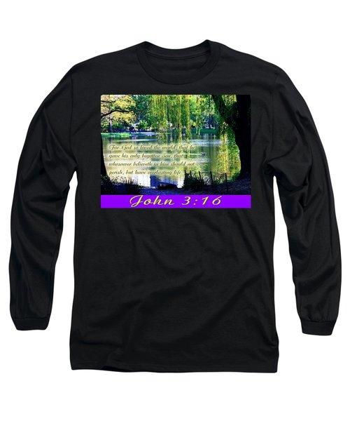 For God So Loved- Long Sleeve T-Shirt