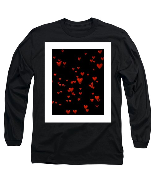 Long Sleeve T-Shirt featuring the digital art For My Girl... by Tim Fillingim