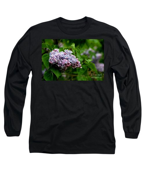 For The Love Of Lilac Long Sleeve T-Shirt