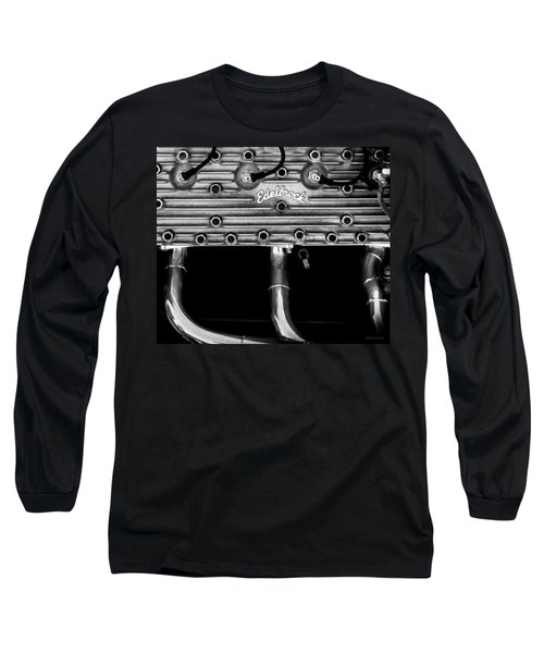 Ford Flathead-v8 Long Sleeve T-Shirt by Steven Milner