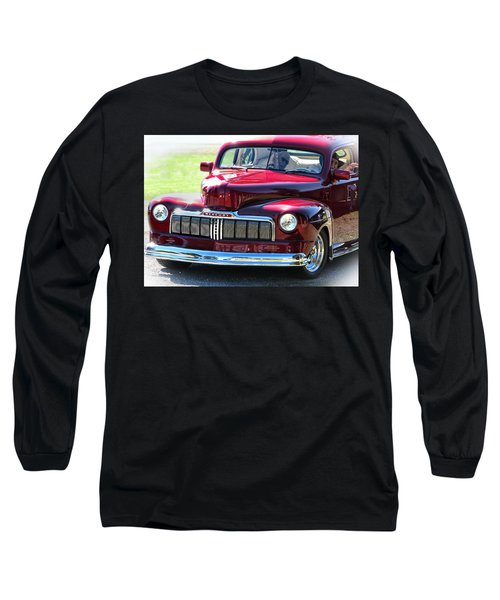 Ford Mercury Eight Long Sleeve T-Shirt by Rory Sagner