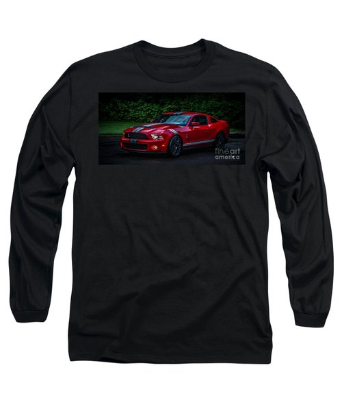 Ford Mustang Gt 500 Cobra Long Sleeve T-Shirt