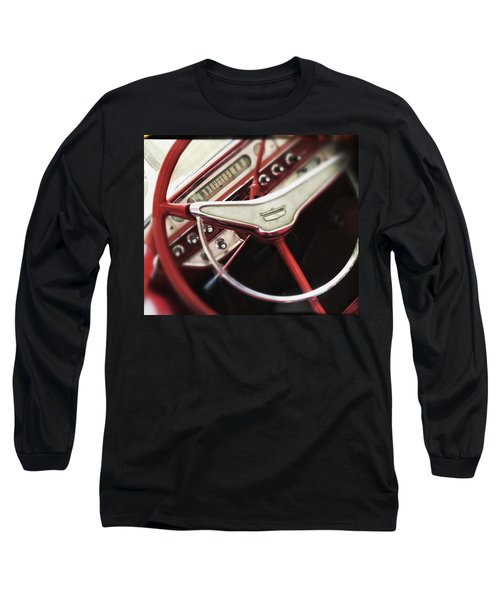 Ford Sunliner Long Sleeve T-Shirt by Bradley R Youngberg