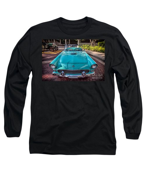 Ford Thunderbird  Long Sleeve T-Shirt by Adrian Evans