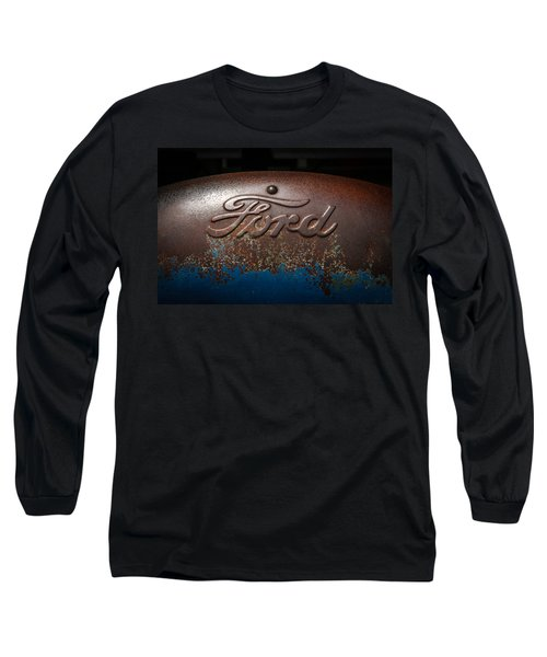 Ford Tractor Logo Long Sleeve T-Shirt