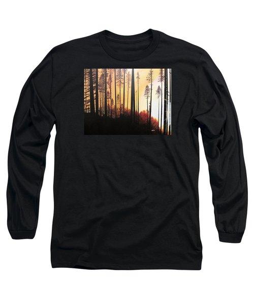 Forest Sunrise Long Sleeve T-Shirt