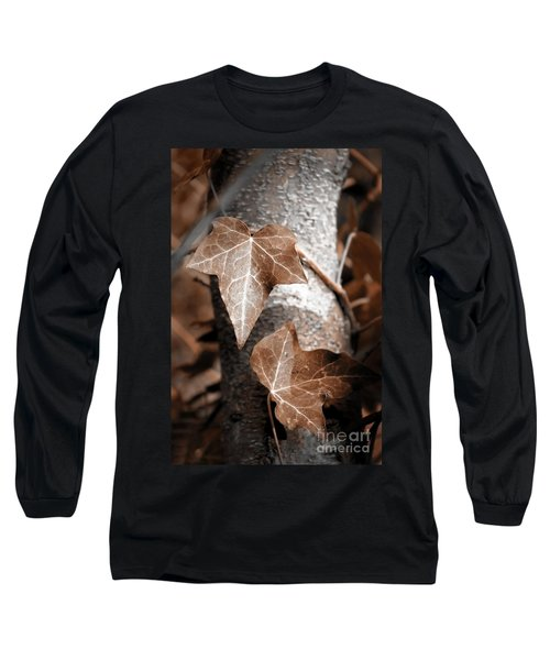 Long Sleeve T-Shirt featuring the photograph Forever Entwined by Ellen Cotton