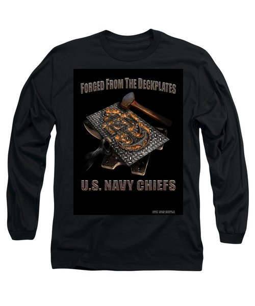 Forged From The Deckplates Long Sleeve T-Shirt