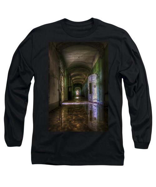 Forgotten Reflections Long Sleeve T-Shirt by Nathan Wright