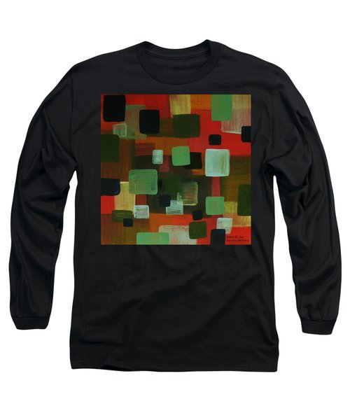 Long Sleeve T-Shirt featuring the painting Forms by Barbara St Jean