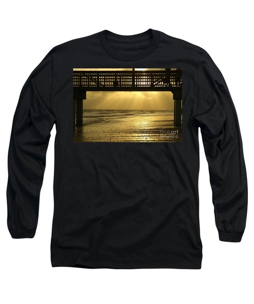 Fort Myers Golden Sunset Long Sleeve T-Shirt