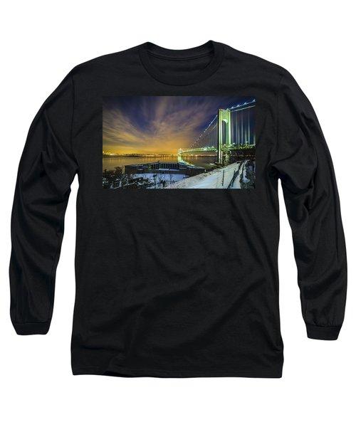 Fort Wadsworth And Verrazano Bridge Long Sleeve T-Shirt