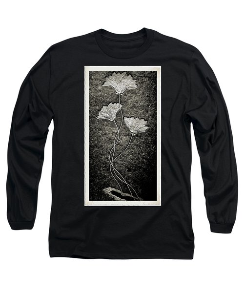 Fossilized Flowers Long Sleeve T-Shirt