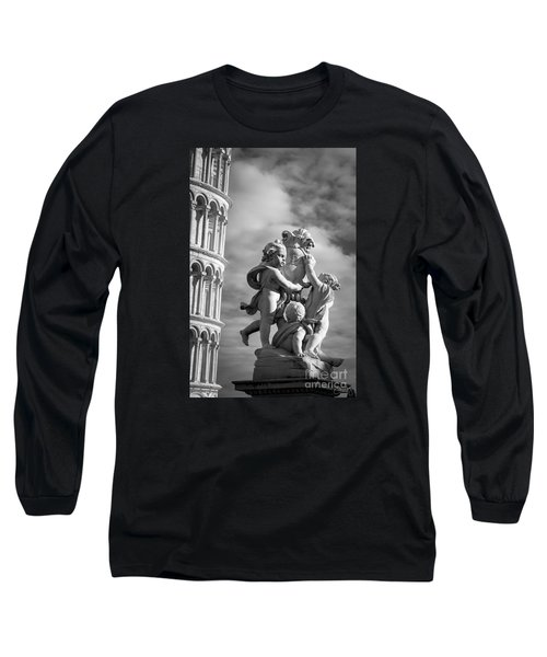 Fountain With Angels Long Sleeve T-Shirt