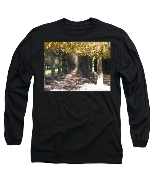 Fountainebleau - Under The Trees Long Sleeve T-Shirt by HEVi FineArt