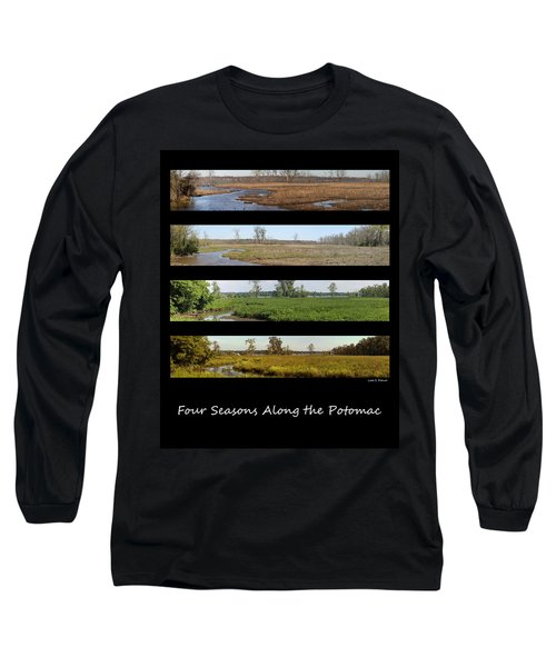 Four Seasons Along The Potomac Long Sleeve T-Shirt