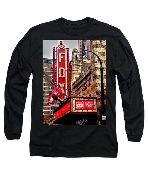 Fox Theater - Atlanta Long Sleeve T-Shirt by Robert L Jackson