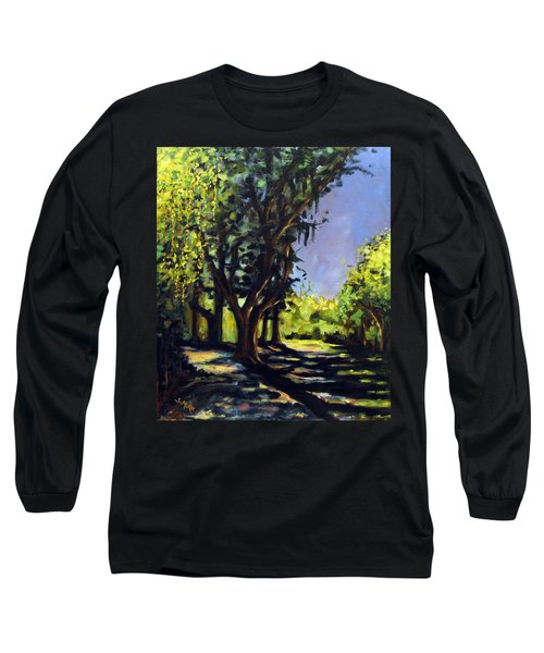 Foxgrapes And A Sandy Road Long Sleeve T-Shirt