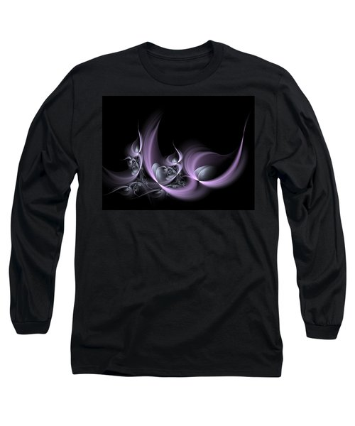 Fractal Fruits Long Sleeve T-Shirt