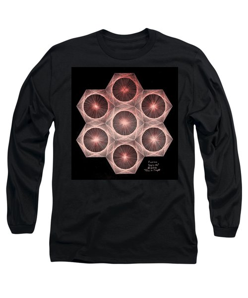 Fractal Fusion Hw Equals Mc Squared Long Sleeve T-Shirt