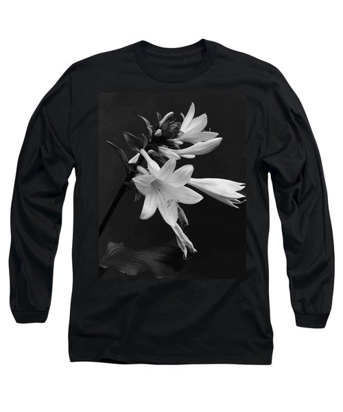 Fragrant Plantain Lily Long Sleeve T-Shirt