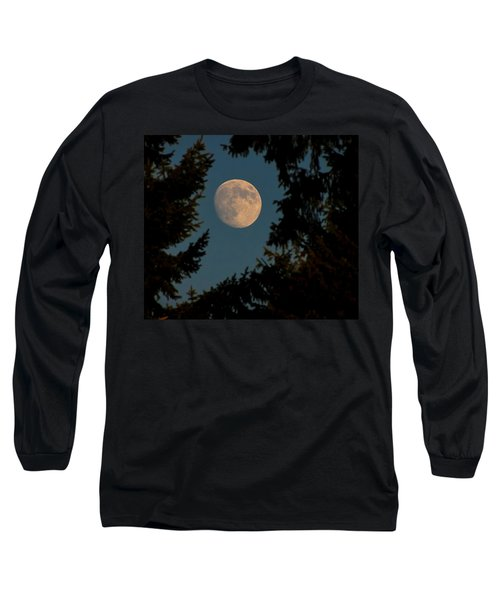 Framed Moon Long Sleeve T-Shirt