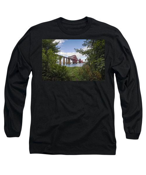 Framing The Forth Bridge Long Sleeve T-Shirt