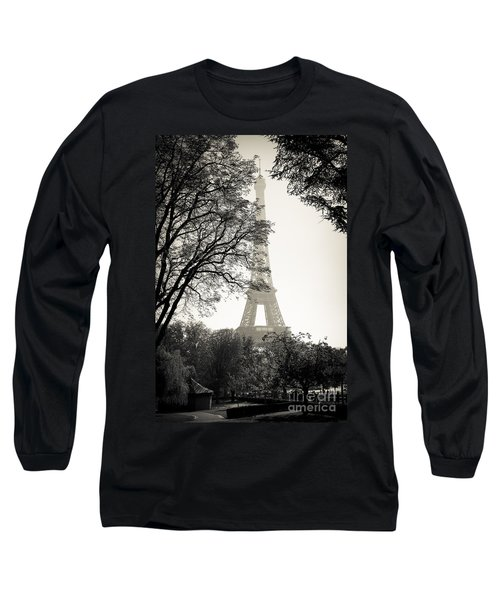 The Eiffel Tower Paris France Long Sleeve T-Shirt