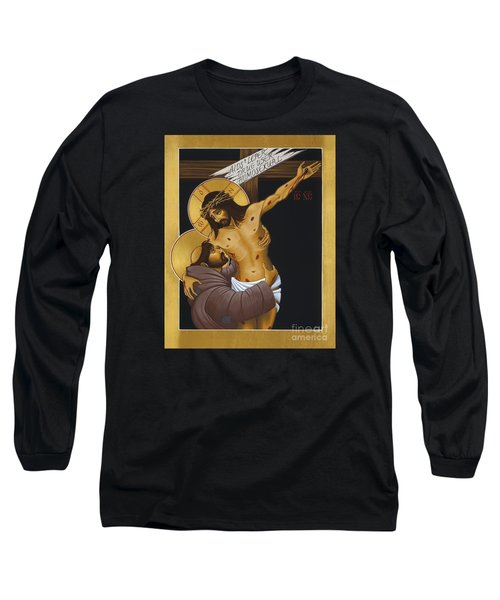 Francis 'neath The Bitter Tree 006 Long Sleeve T-Shirt by William Hart McNichols