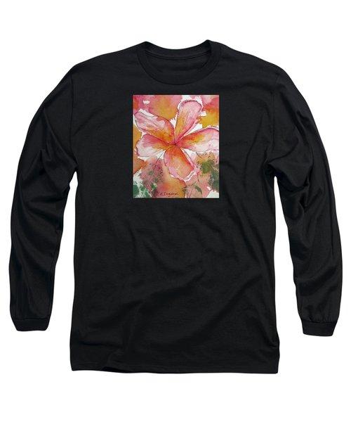 Frangipani Long Sleeve T-Shirt by Elvira Ingram