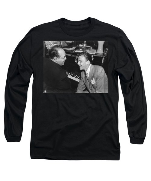 Frank Sinatra At Stork Club Long Sleeve T-Shirt