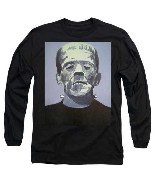 Frankenstein Long Sleeve T-Shirt by Dan Twyman