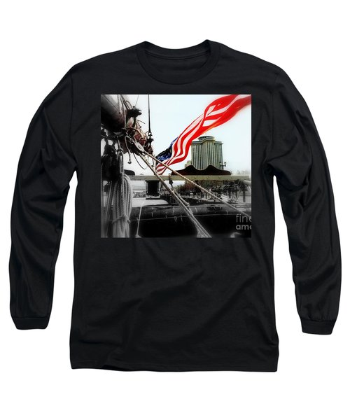 Freedom Sails Long Sleeve T-Shirt by Michael Hoard