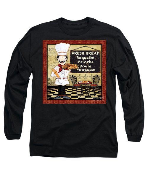 French Chef-a Long Sleeve T-Shirt