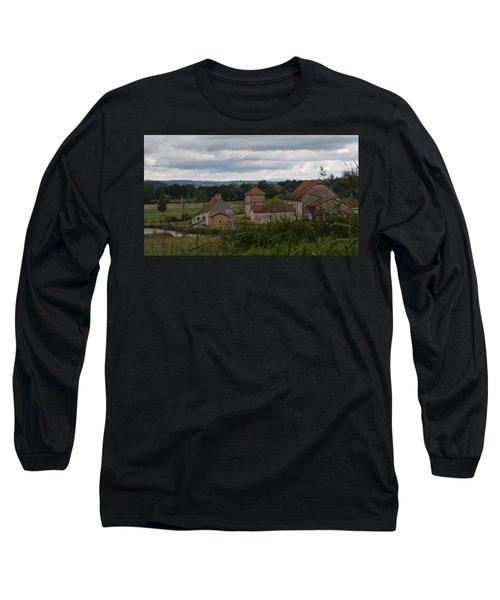 French Farm House Long Sleeve T-Shirt