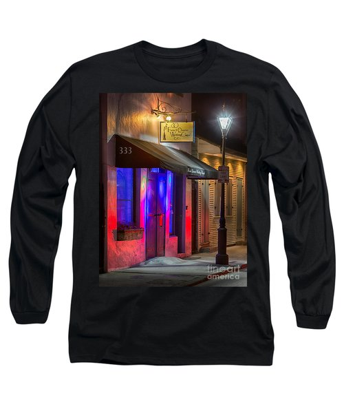 French Quarter Wedding Chapel Long Sleeve T-Shirt by Jerry Fornarotto
