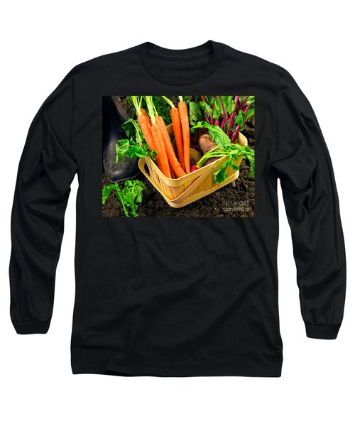 Fresh Picked Healthy Garden Vegetables Long Sleeve T-Shirt