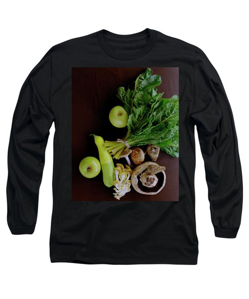 Fresh Vegetables And Fruit Long Sleeve T-Shirt