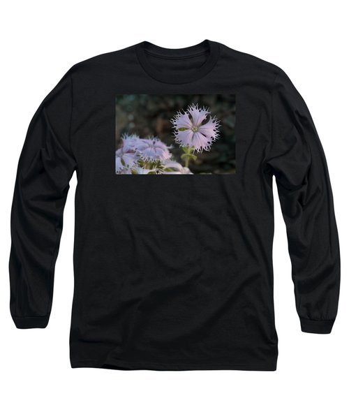 Long Sleeve T-Shirt featuring the photograph Fringed Catchfly by Paul Rebmann