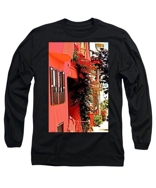 Frisco Street Flowers Long Sleeve T-Shirt