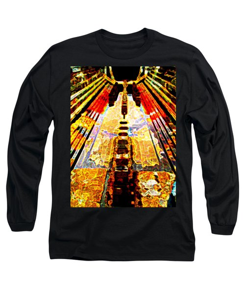 Fritz Lang's Metropolis Yet Stands Long Sleeve T-Shirt