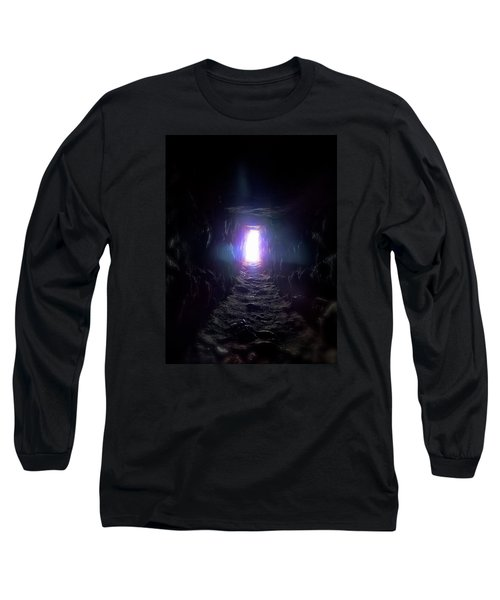 From Dark To Bright Long Sleeve T-Shirt by Marc Philippe Joly