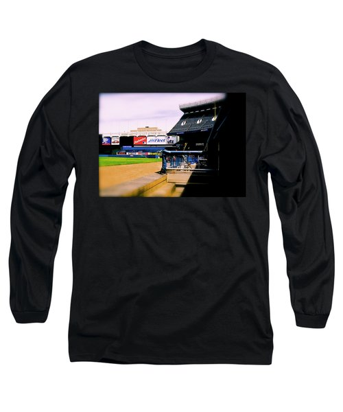 From The Dugout  The Yankee Stadium Long Sleeve T-Shirt