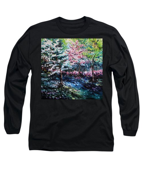 Long Sleeve T-Shirt featuring the painting From The Earth by Meaghan Troup