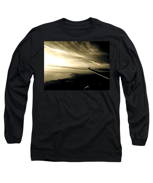 From The Plane Long Sleeve T-Shirt