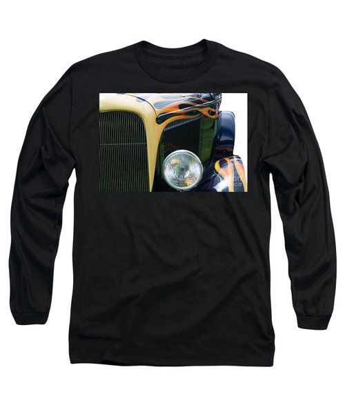 Long Sleeve T-Shirt featuring the photograph Front Of Hot Rod Car by Gunter Nezhoda